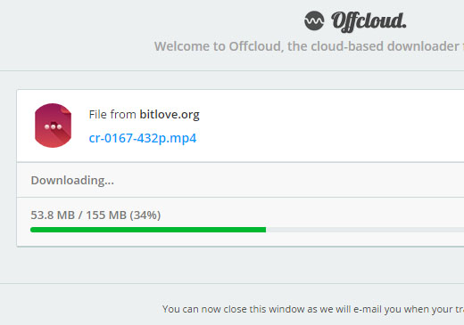 Offcloud for Google Drive - Your cloud based download manager